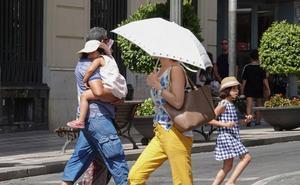 La ola de calor se acerca de Granada