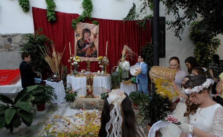 Así ha sido la procesión del Corpus en Órgiva