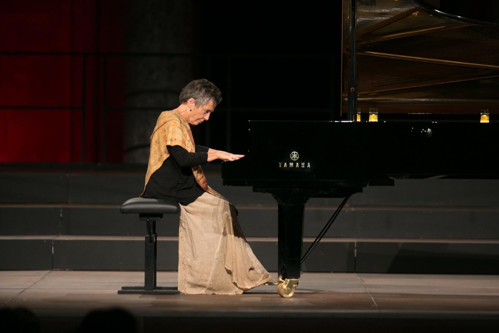 Así fue la actuación de Maria Joao Pires en el Festival Internacional de Música y Danza