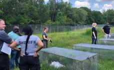 Las 'granjas de cadáveres': pudridero al aire libre