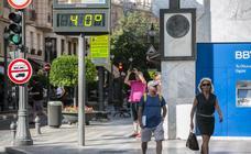 Granada ya roza los 40 grados de temperatura