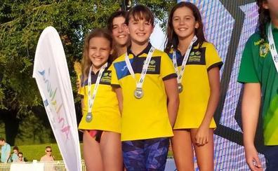 Segundo puesto para el Churriana en el Andaluz de Jóvenes Nadadores