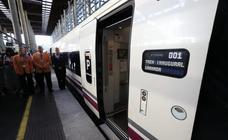 Las imágenes de la llegada del AVE a Granada