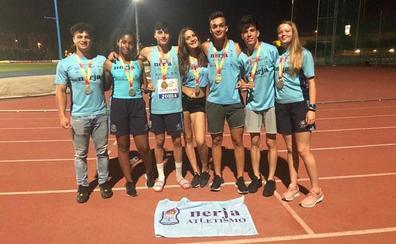 Cinco medallistas granadinos en el Campeonato de España sub-18