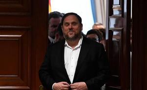 El Supremo abre la vía para que el Tribunal Europeo se pronuncie sobre la inmunidad de Junqueras