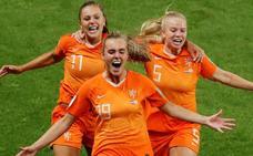 Lieke Martens lleva a los Países Bajos a cuartos