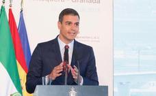 Pedro Sánchez: «Hoy Granada le gana la batalla al tiempo»