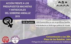 Concentración hoy en Jaén por las 1.000 mujeres asesinadas por la violencia de género