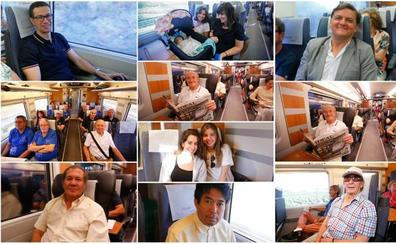 10 historias del primer viaje en AVE a Madrid