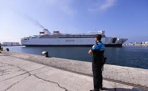 Motril estrena mañana su nuevo ferry rápido con Melilla