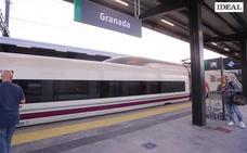 Así ha sido el primer viaje comercial de AVE de Granada a Madrid