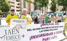 'Jaén merece más' lleva el malestar de la provincia a Granada