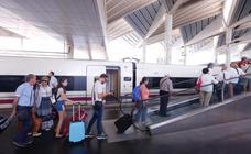 El primer tren desde Granada consigue recuperar el tiempo de retraso y llega a Madrid antes de lo previsto