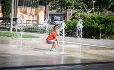 Aviso naranja: Granada, en «riesgo importante» por calor el viernes y sábado