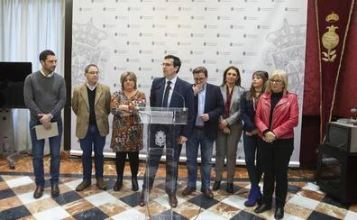 El PSOE critica que el pacto entre Cs y PP con siete tenencias de alcaldía supondrá un gasto de 400.000 euros