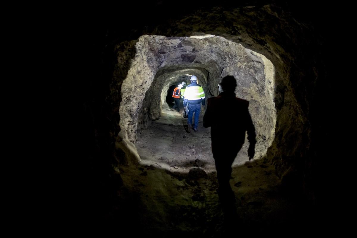 Así son por dentro las antiguas minas de Alquife, reabiertas 30 años después