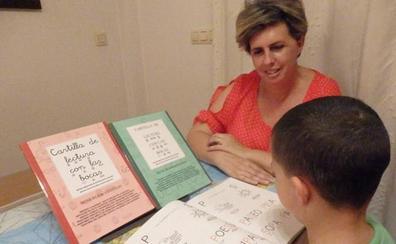 Bocas dibujadas para aprender a leer