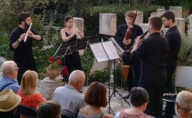 La música de viento abre el verano cultural del Aljibe del Rey