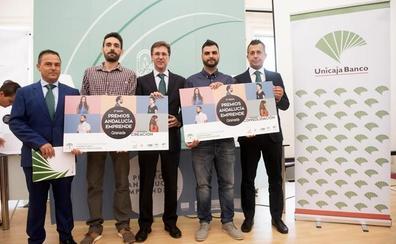 Unicaja Banco muestra un año más en Granada su apoyo a los Premios Andalucía Emprende