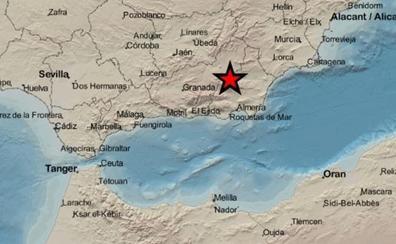Un terremoto entre Almería y Granada alerta a ambas provincias
