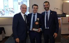Antonio Domene protagoniza la presencia de Almería en la noche de los 'telecos' andaluces