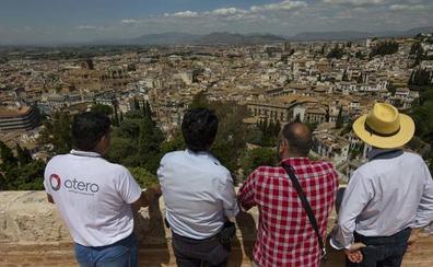 Las vistas nunca vistas de Granada desde las Torres Bermejas