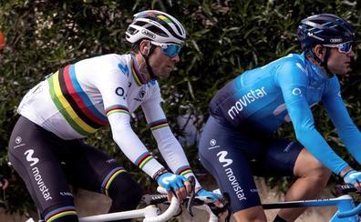 Valverde, de campeón del mundo a campeón de España en casa