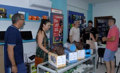 Órgiva celebra la 'Noche Abierta' para promocionar sus tiendas y comercios