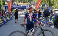 La granadina Estefanía Gámez, cuarta clasificada en el Europeo de Ultramaraton