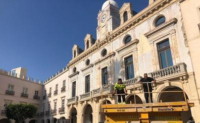 La fachada de la Casa Consistorial estará rehabilitada antes de final de año