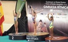 Marta Cordobilla se proclama campeona de España en la modalidad de mazas