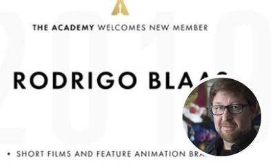 El granadino Rodrigo Blaas entra en la Academia de los Oscar