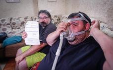 Enfermos de Granada que dependen de una máquina, afectados por los cortes de luz
