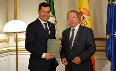 Moreno valora el trabajo del Consejo Consultivo, organismo que PP y Cs pactaron suprimir