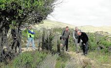 La Guardia Civil investiga el hallazgo de restos humanos en la fosa del caso Alcàsser