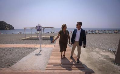 «Carchuna necesita la ayuda de Costas para poder regenar las playas y construir espigones»