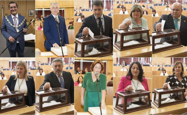 Estos son los 27 diputados provinciales