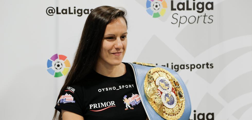 Joana Pastrana defenderá su título mundial ante Yokasta Valle