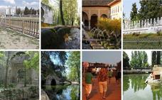 8 parques y jardines para escapar del calor en Granada