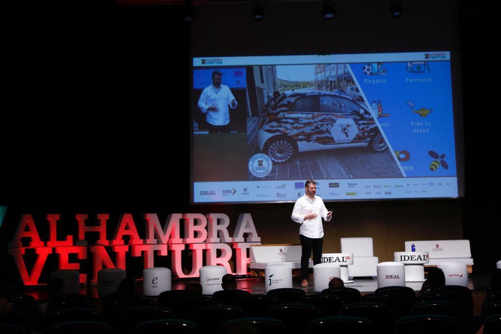 Las imágenes del jueves en Alhambra Venture