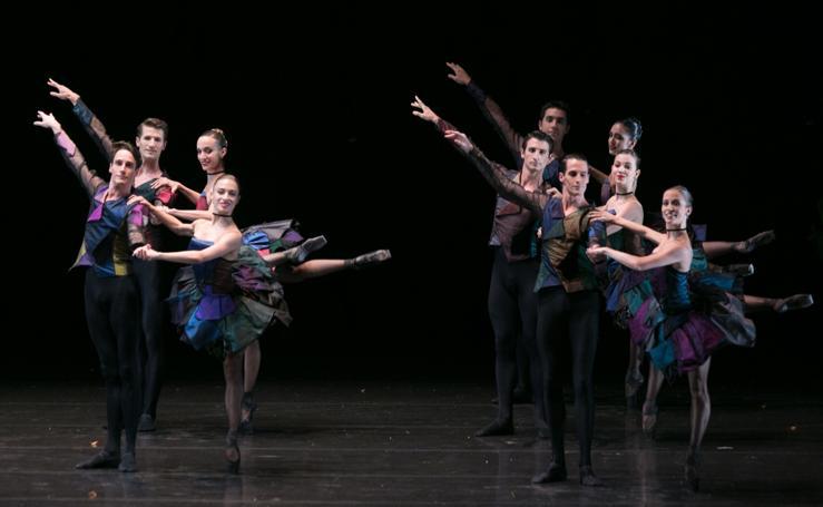La Compañía Nacional de Danza conquista el Generalife con 'El sombrero de tres picos'