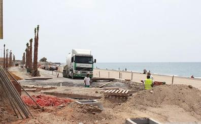 Las obras del Paseo Marítimo siguen sin fecha