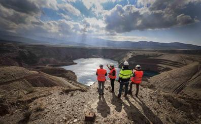 Un recorrido en vídeo por la mina de Alquife