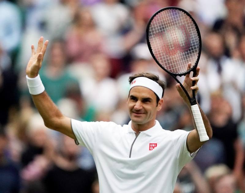 El pase a cuartos de Wimbledon, visto y no visto para Roger Federer