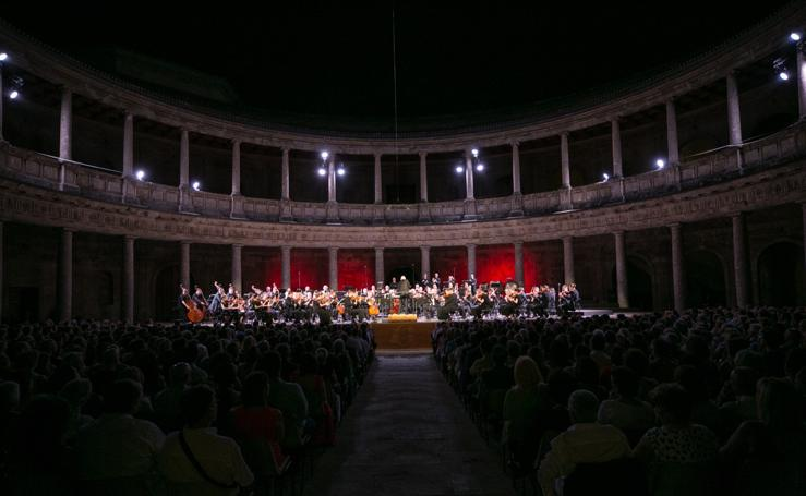 Festival de Música y Danza de Granada: Mahler vuelve a conquistar el Palacio de Carlos V