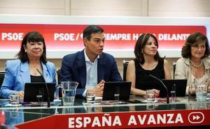 Sánchez se blinda con el aval de la ejecutiva para mantener el rechazo a un Gobierno de coalición