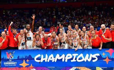 El España-Francia, el partido más visto de la historia del baloncesto femenino
