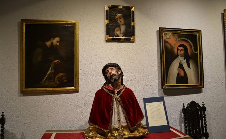 Así es la colección que atesora este monasterio de Granada