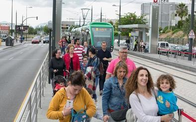 Los usuarios del metro de Granada crecen en más de un 15% en el primer semestre del año