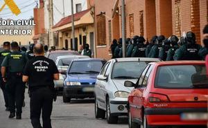 Desmantelado en Roquetas un 'narcobloque' con 2.400 plantas de marihuana